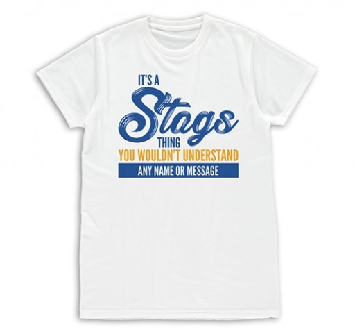 Kids T-shirt - Its A stags Thing
