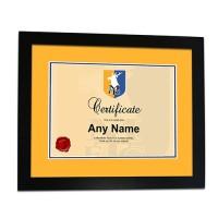 Framed Print Certificate