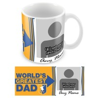 Mug -  Photo Upload- Fathers Day- Greatest Dad