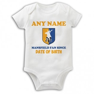 Baby Grow- Mansfield Fan Since