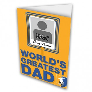 Greeting Card Photo Upload Fathers Day
