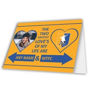 Greeting Card Valentines Photo Upload