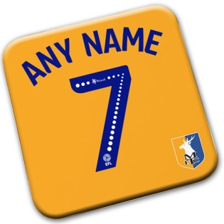 Coaster - Name & Number