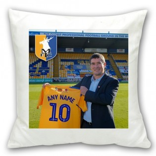 Square Cushion-Sign For The Stags