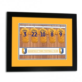 Framed Print Changing Room