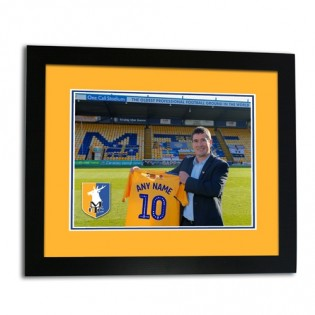 Framed Print Sign For The Stags