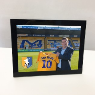 Glass Photo Frame- Sign For The Stags