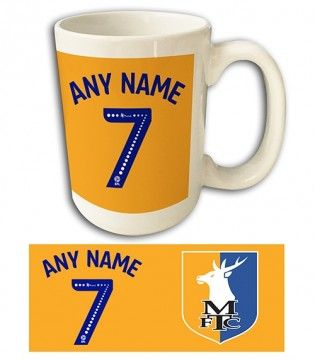 Mega Mug Name & Number