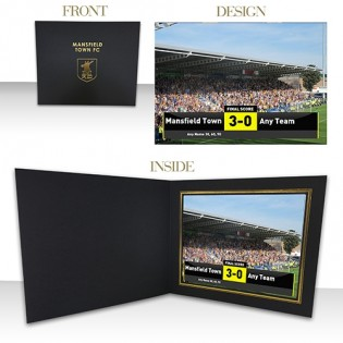 Photo Folder Print No.1 Fan Scoreboard
