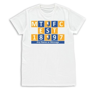 T-shirt Womens - Established 1897 Blocks