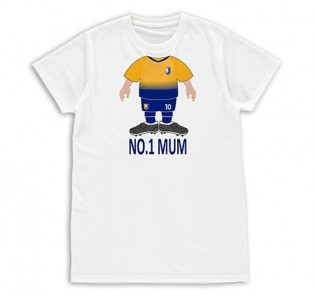 T-shirt Womens - Mothers Day Footballer Use Your Head