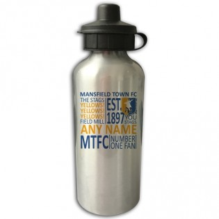 Water Bottle - Text