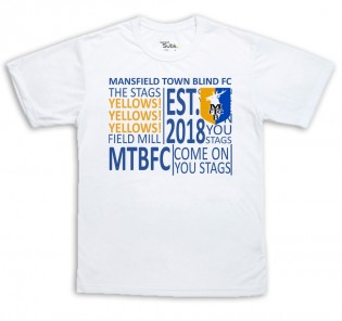 MTFC Blind T-shirt Mens & Womens - Text