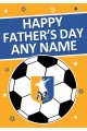 Greeting Card Happy Fathers Day